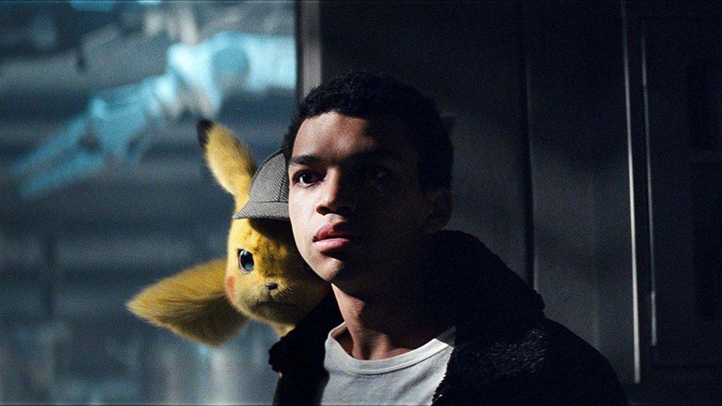Justice Smith y Pikachu