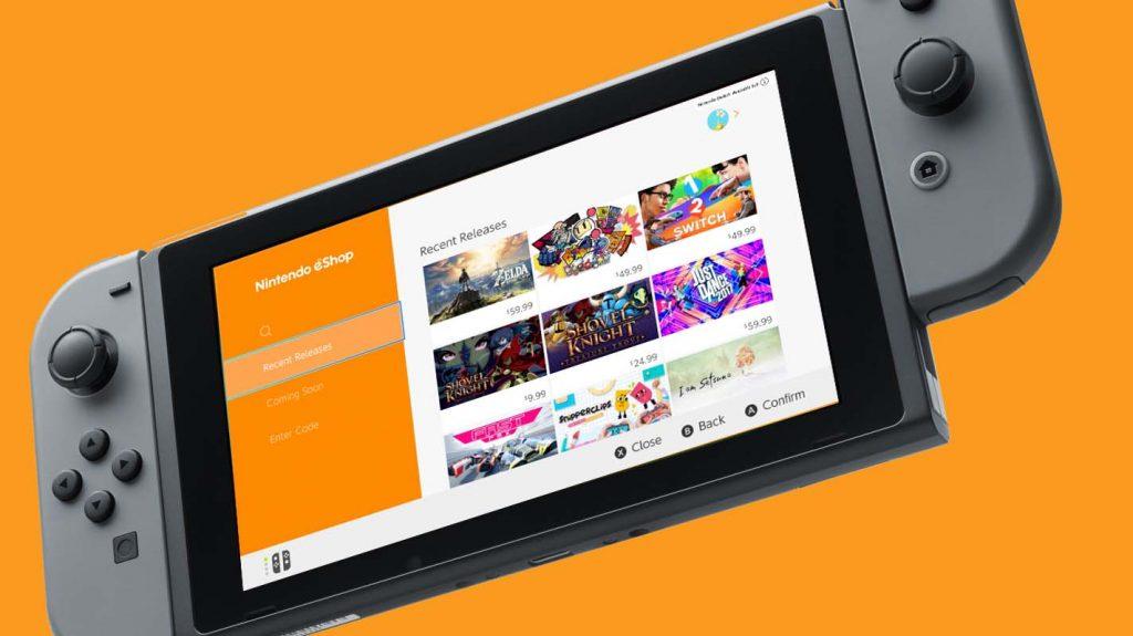 eShop en Nintendo Switch