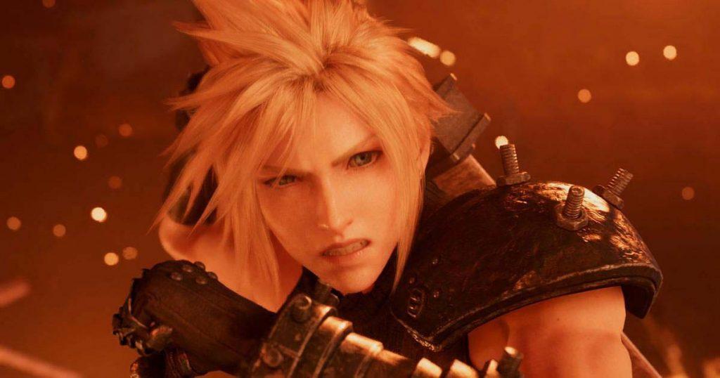 Cloud en en remake de Final Fantasy VII