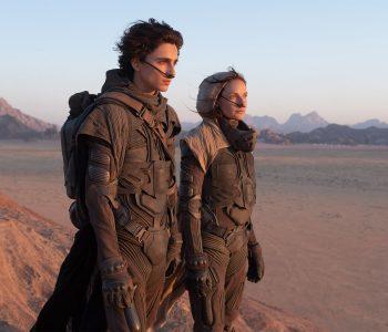 Dune, con Timothée Chamalet y Rebecca Ferguson