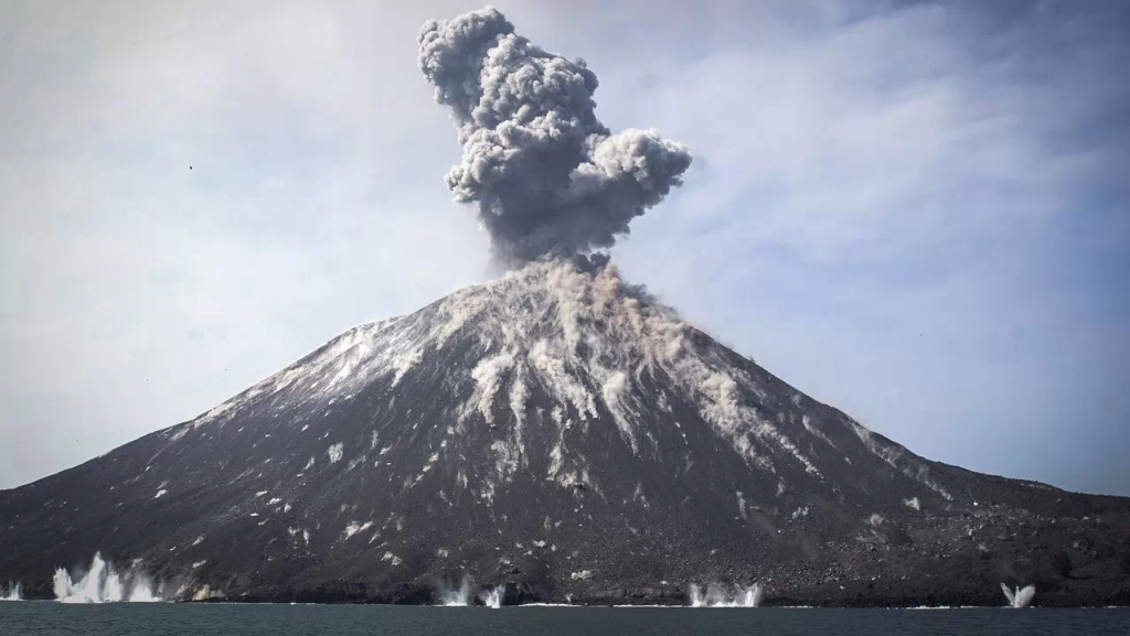 Volcán Krakatoa