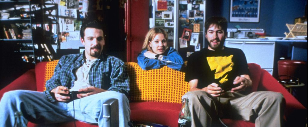 Ben Affleck, Joey Lauren Adams y Jason Lee en 'Persiguiendo a Amy'