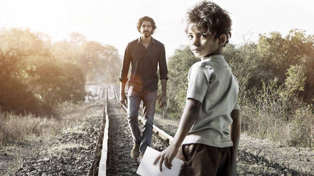 Dev Patel y Sunny Pawar en Lion