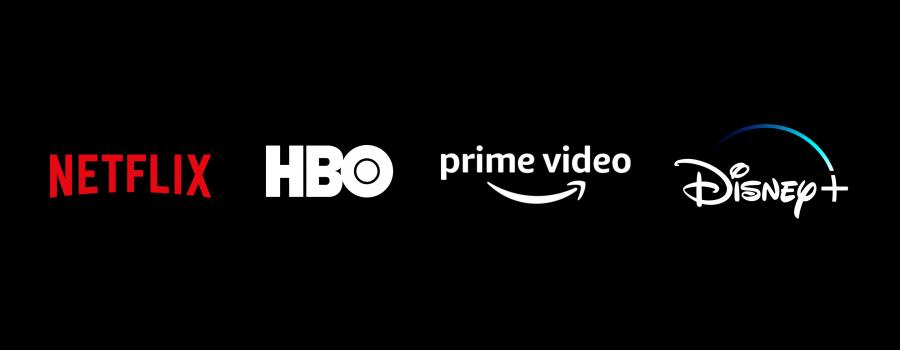 Netflix, HBO, Prime Video y Disney+