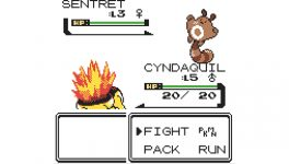 Cyndaquil contra Sentret