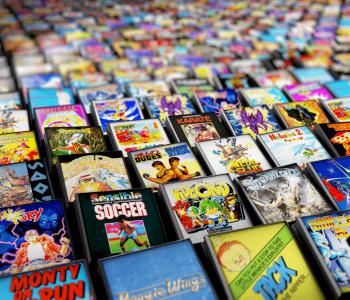 Catálogo de videojuegos retro