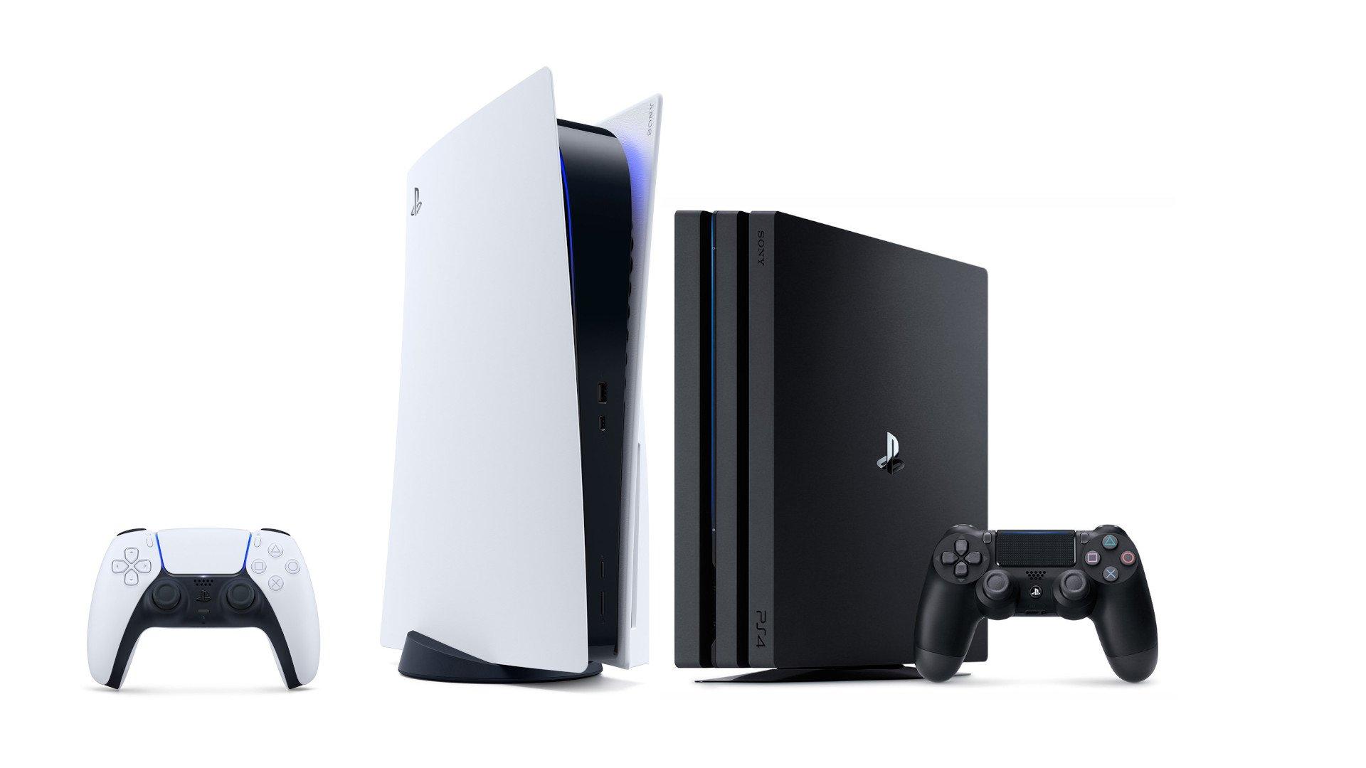 PS5 y PS4