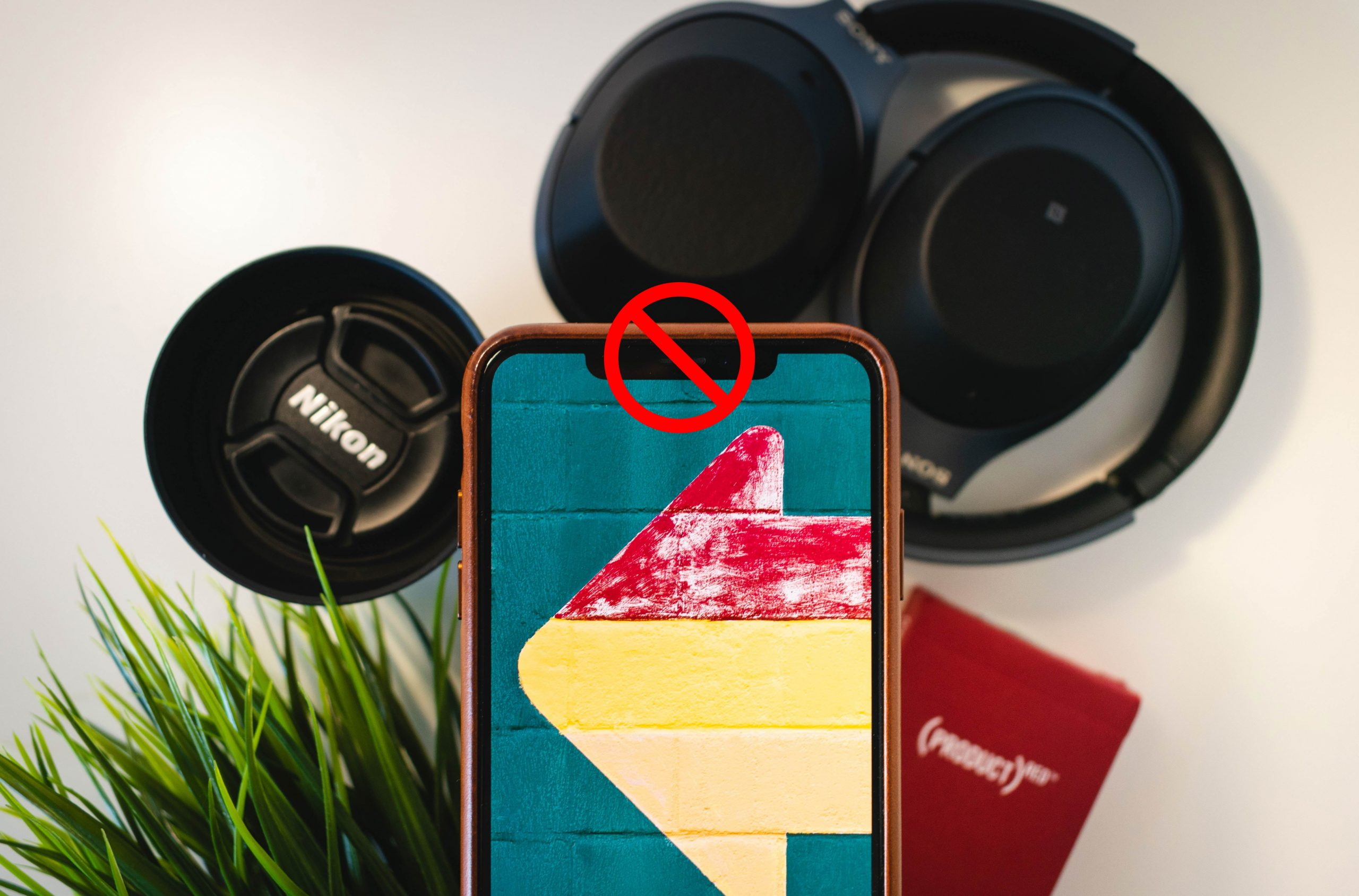 Smartphone con notch