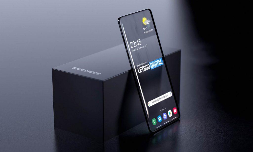 Samsung pantalla transparente