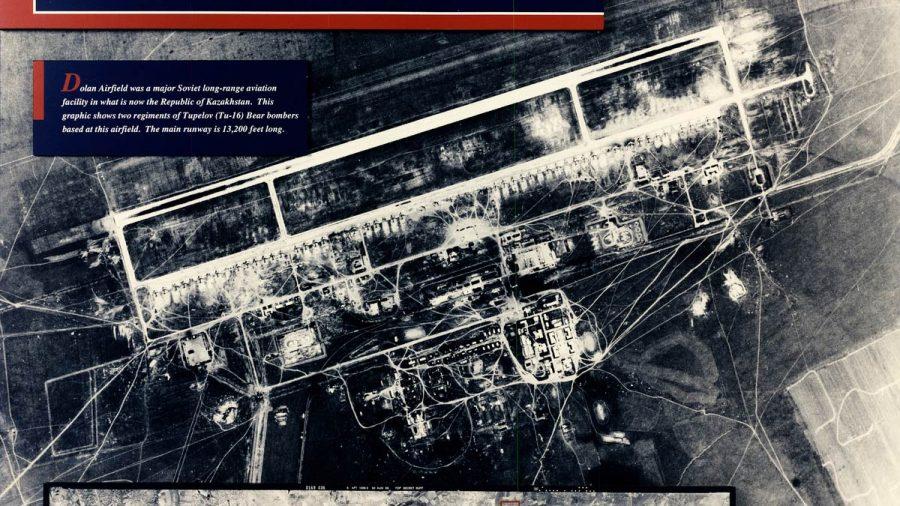 Captura de la URSS por satélite Corona