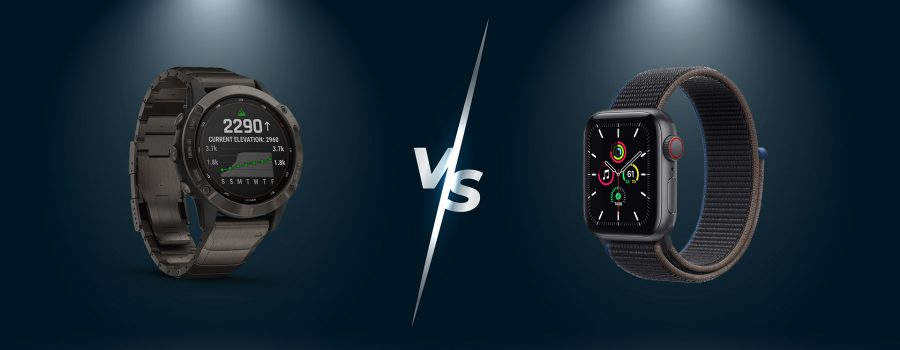 Apple Watch vs Garmin Fenix 6