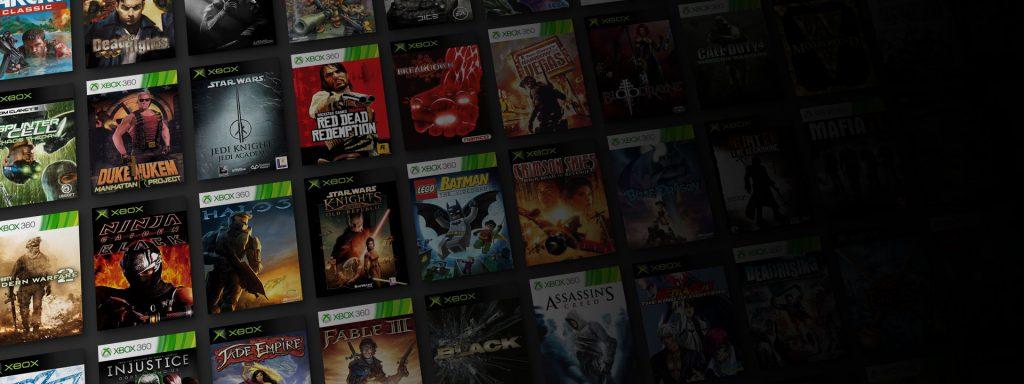 Catálogo juegos Xbox