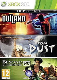 Microsoft Triple Pack: Beyond Good & Evil + Outland + From Dust, Xbox 360 Xbox 360 vídeo - Juego (Xbox 360, Xbox 360, Multi)