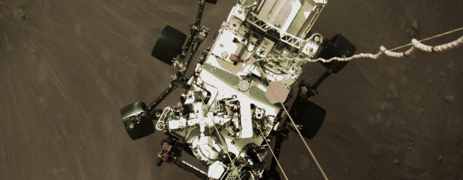 Descenso del rover Perseverance