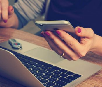 Teclado y iPhone