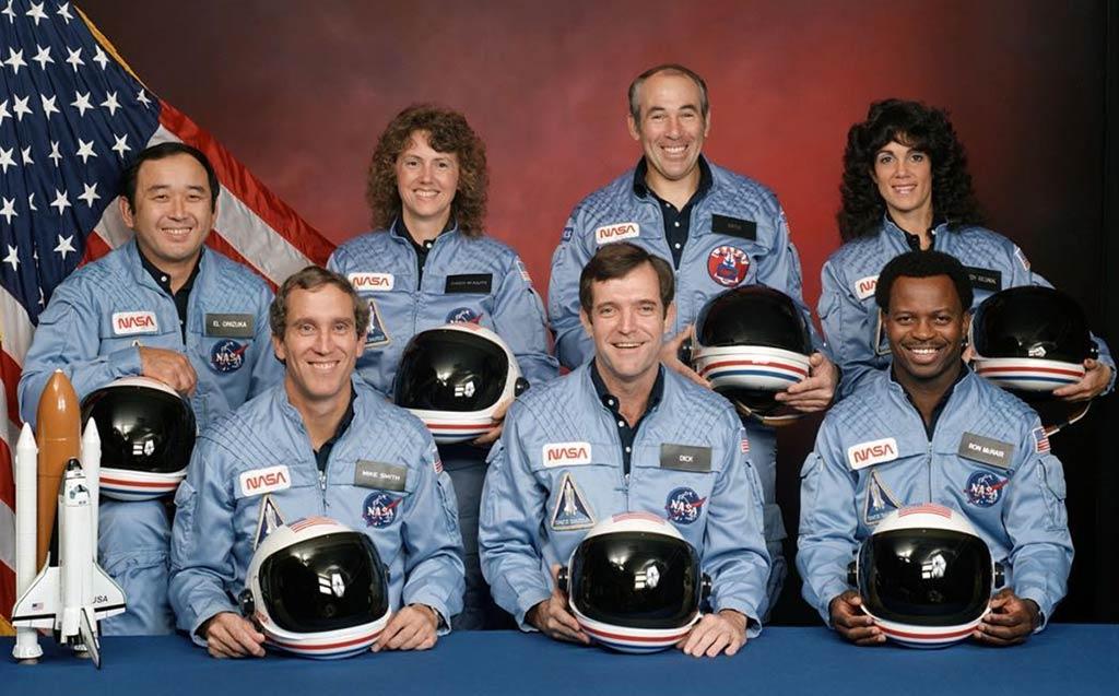 Tripulación del Transbordado Espacial Challenger
