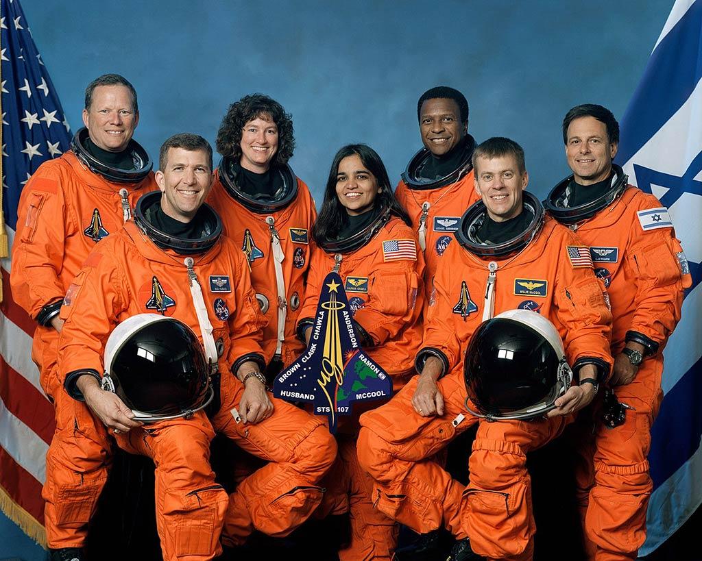 Tripulación del Transbordador Espacial Columbia