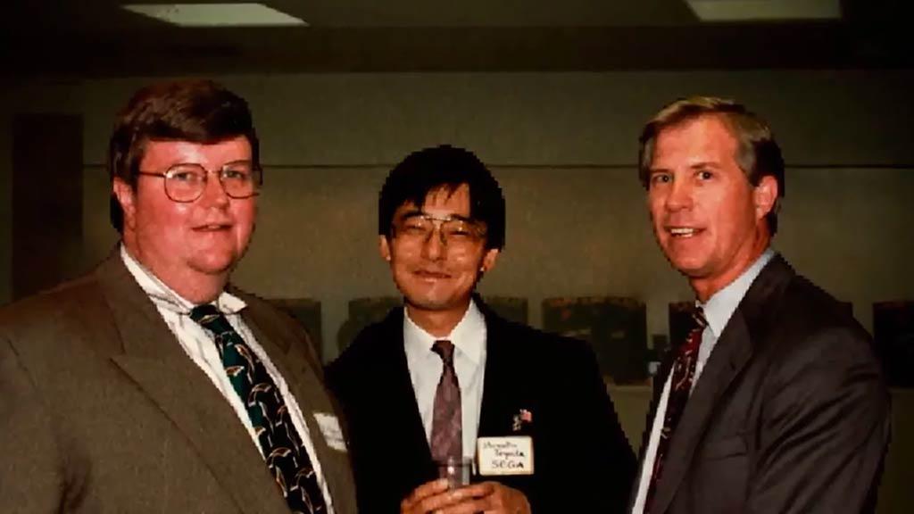 Nielsen, Toyoda y Kalinske, protagonistas de 'Console Wars'