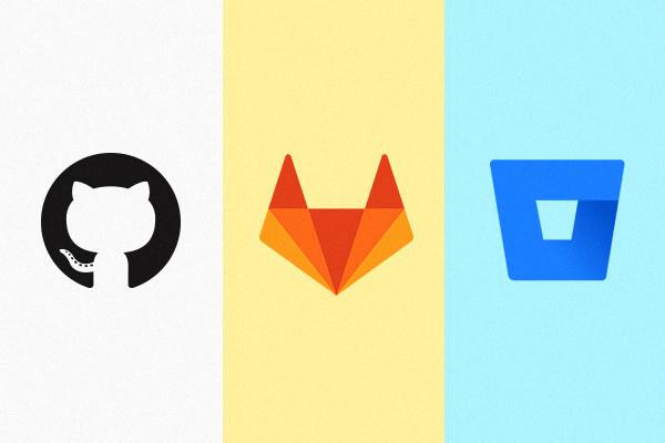 GitHub, GitLab, Bitbucket
