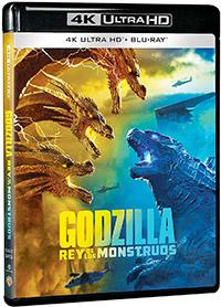 Godzilla: Rey de los monstruos (4K Ultra HD + Blu-ray)