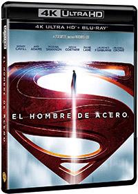 El hombre de acero (4K Ultra HD + Blu-ray)