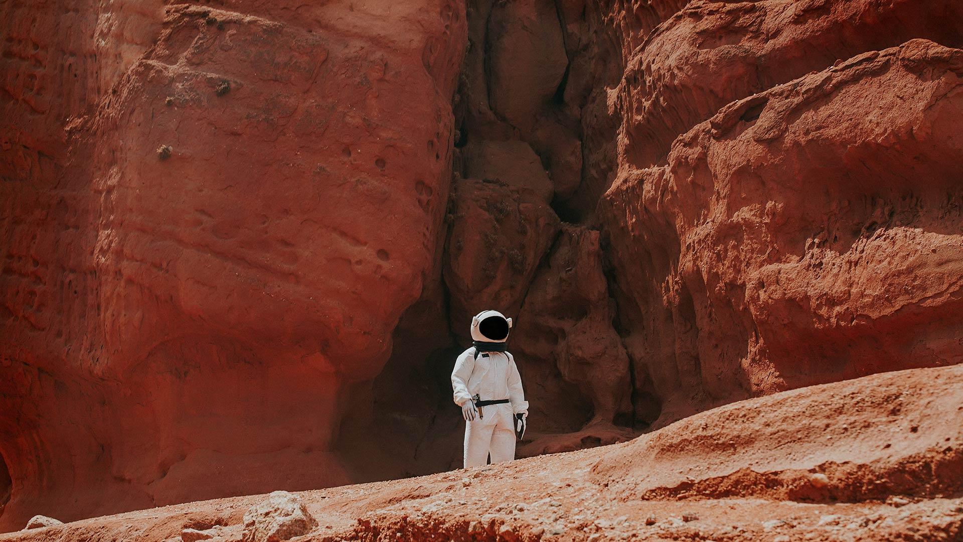 Astronauta en Marte - Image: Unsplash