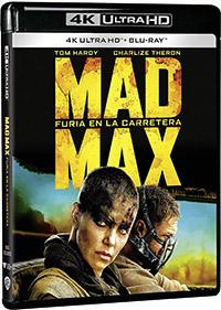 Mad Max: Furia en la carretera (4K Ultra HD + Blu-ray)