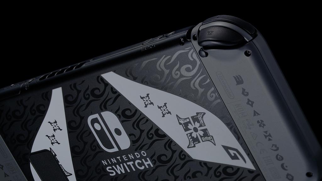 Nintendo Switch edición limitada Monster Hunter Rise