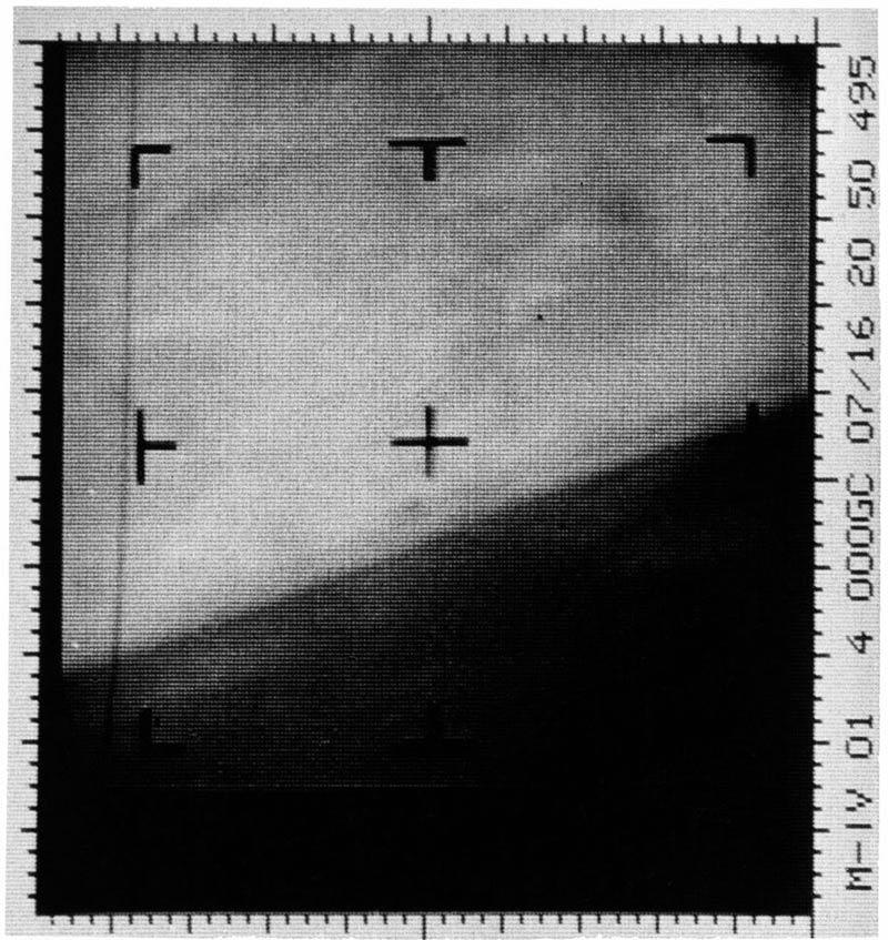 Primera imagen digital de Marte, tomada por la Mariner 4