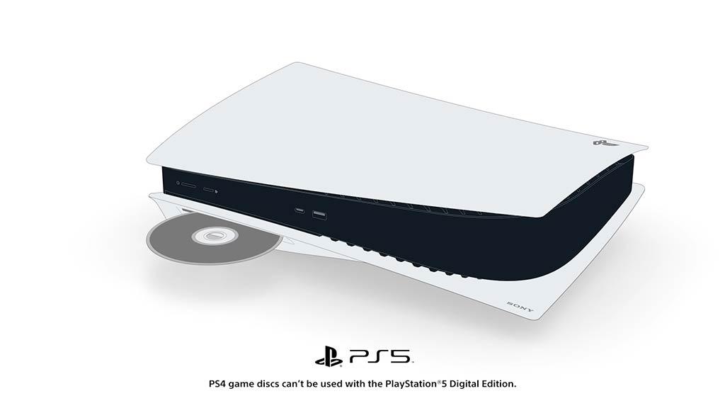 Discos de PS4 en PS5