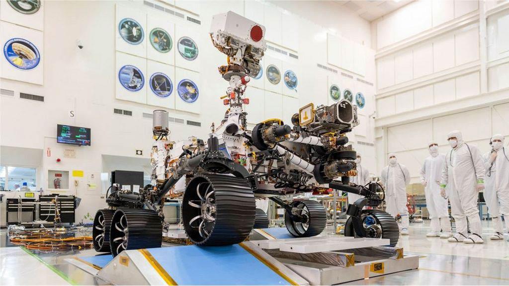 Rover Perseverance. Fuente: NASA
