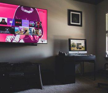 Televisor y Mac
