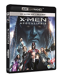 X-Men: Apocalipsis (4K Ultra HD + Blu-ray)