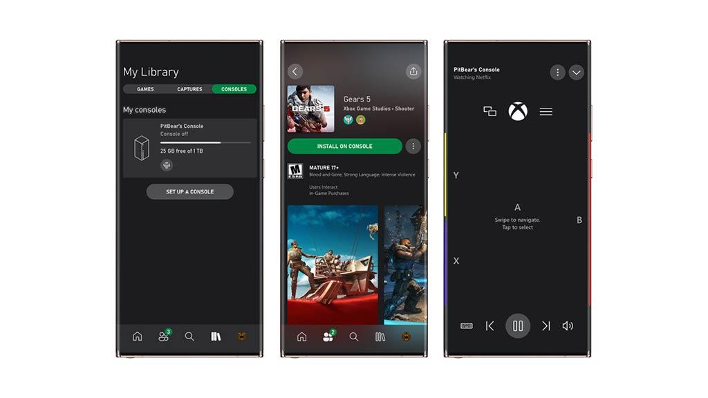 Aplicación oficial Xbox
