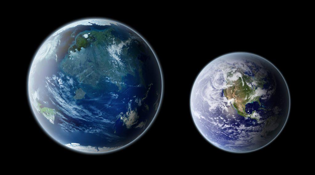 Kepler 442b y la Tierra