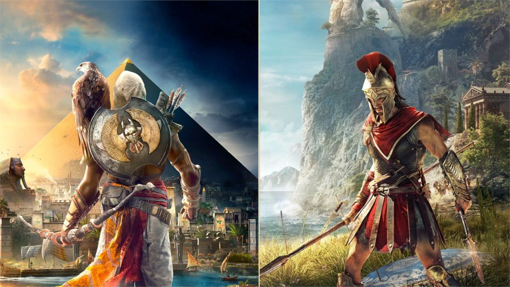 Doble pack: 'Assassin's Creed: Odyssey' + 'Assassin's Creed: Origins'