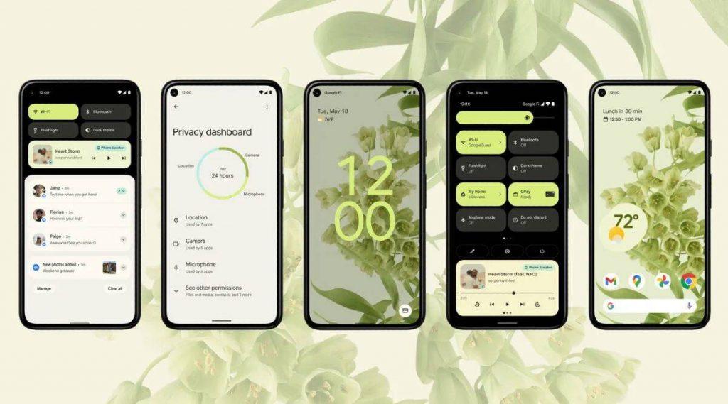 Google I/O 2021 - Android 12