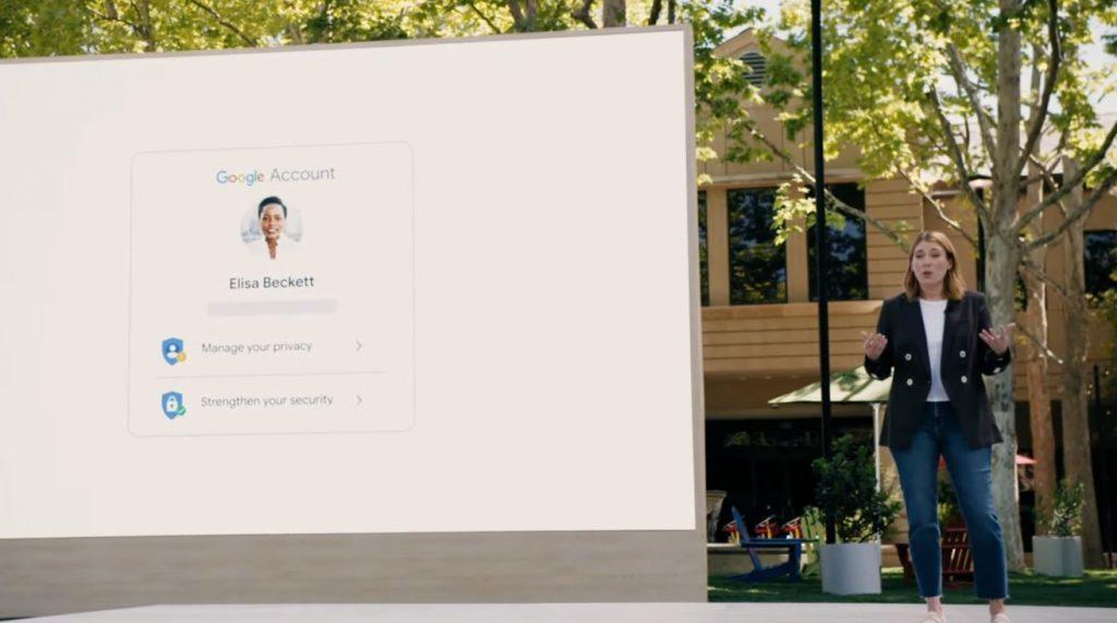 Google I/O 2021 - Privacidad