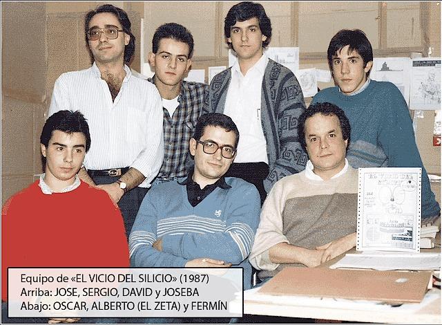 El equipo de 'El Vicio del Silicio'
