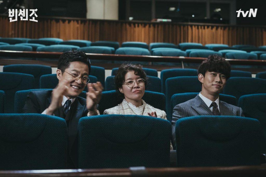 Kim Yeo-jin, Jo Han-chul, y Taecyeon en 'Vincenzo'