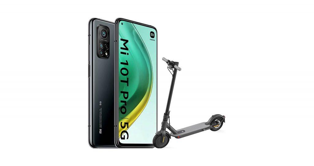 Xiaomi Mi 10T Pro + Xiaomi Mi Electric Scooter 1S