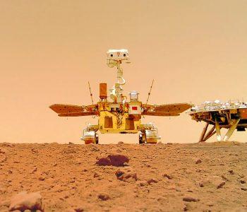 Selfie rover zhurong