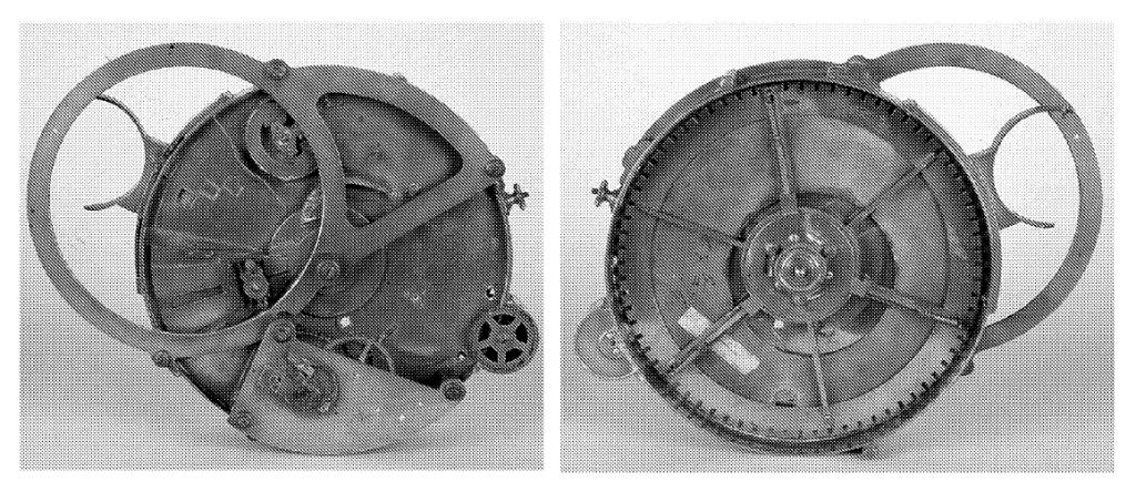 El primer «revólver» de Janssen fabricado por Eugène Deschiens en 1873