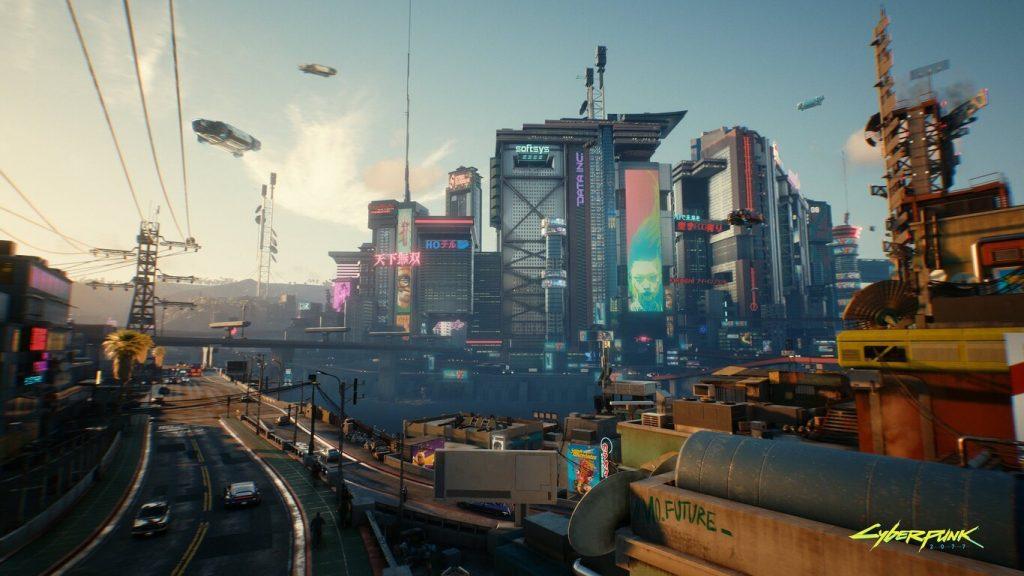 Night City de 'Cyberpunk 2077'