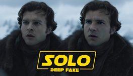Deepfake Han Solo