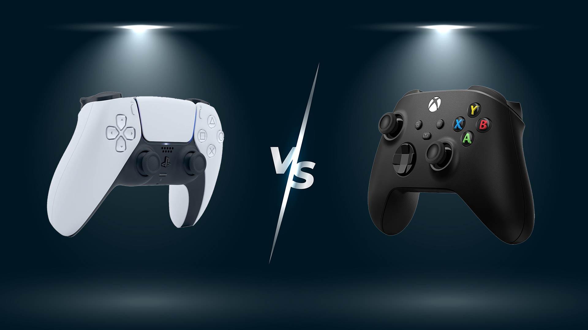 DualSense vs Xbox Controller
