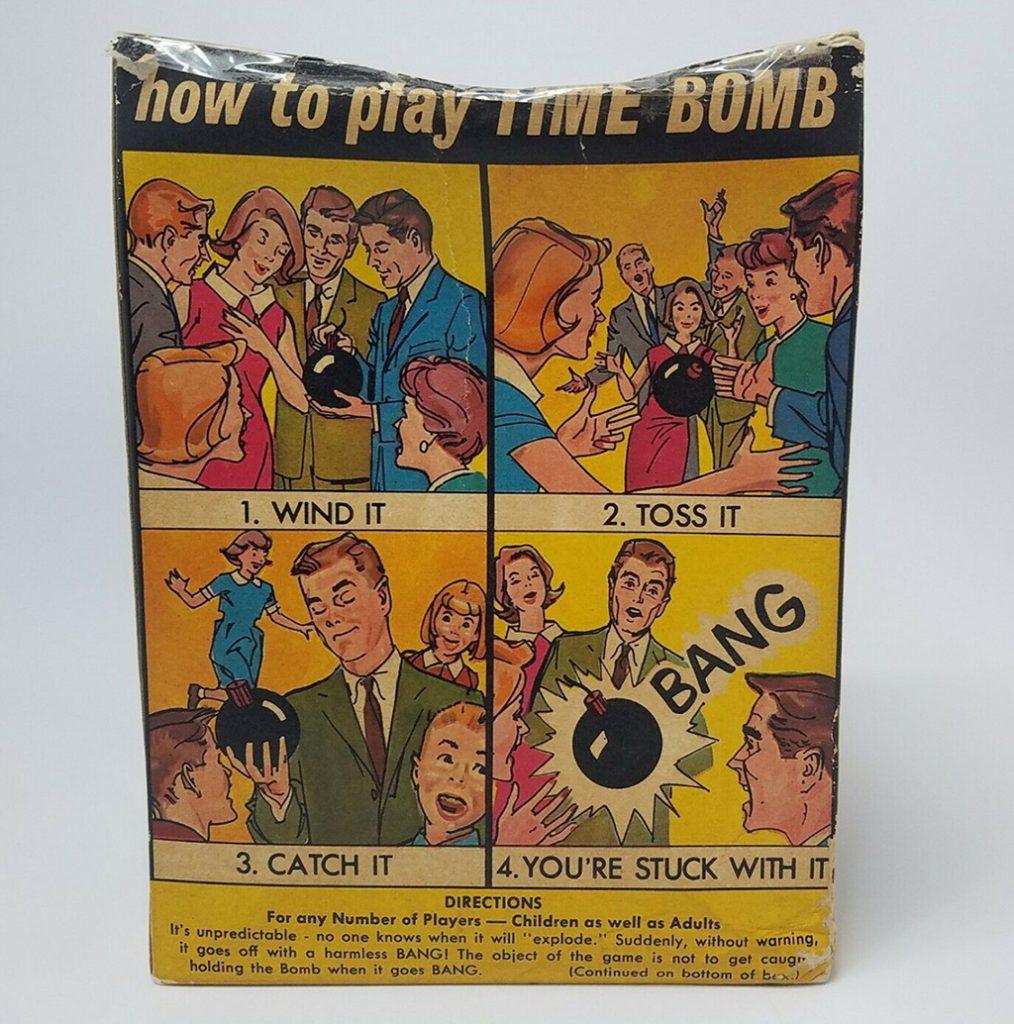 Manual de instrucciones del Time Bomb original