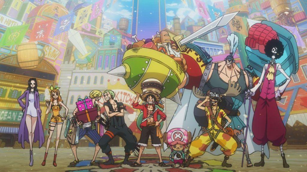 One Piece. Estampida