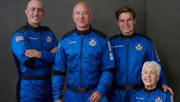 Tripulación New Shepard de Blue Origin
