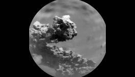 Extraña formación rocosa descubierta en Marte